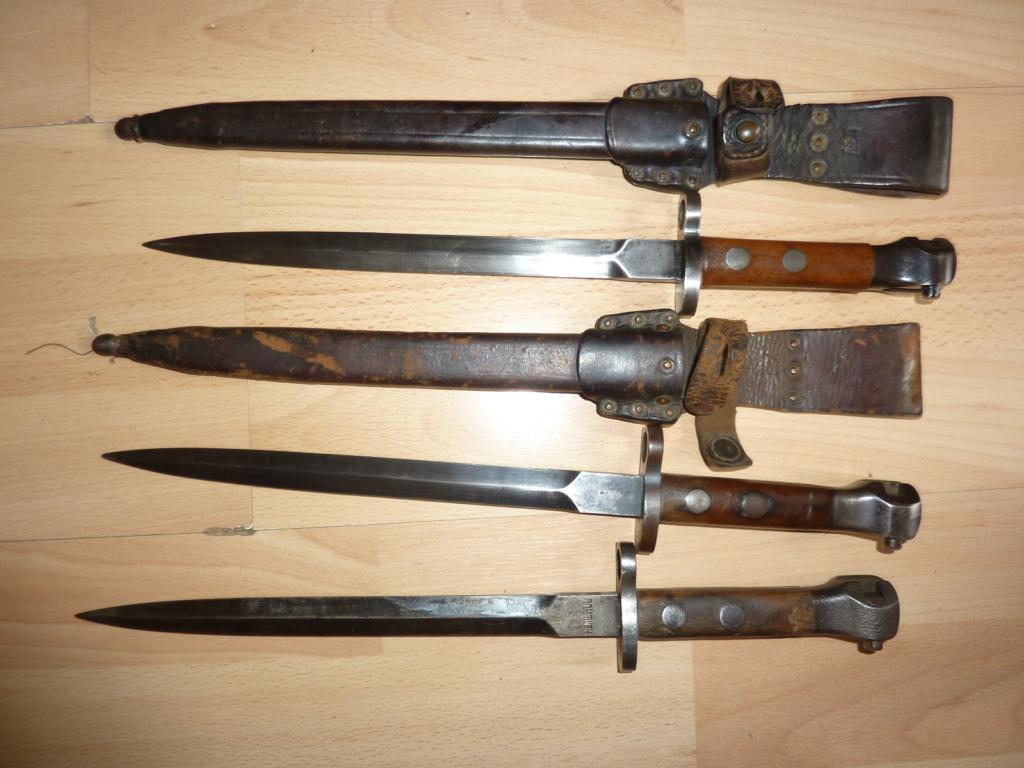 Baionnettes Manlicher Pays-Bas M.1895 de Cavalerie (1918 ) Mannli18