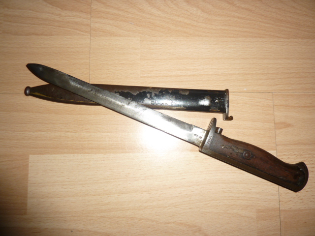 Baionnette Norvège M1894 Krag- Jorgensen Norvzo14