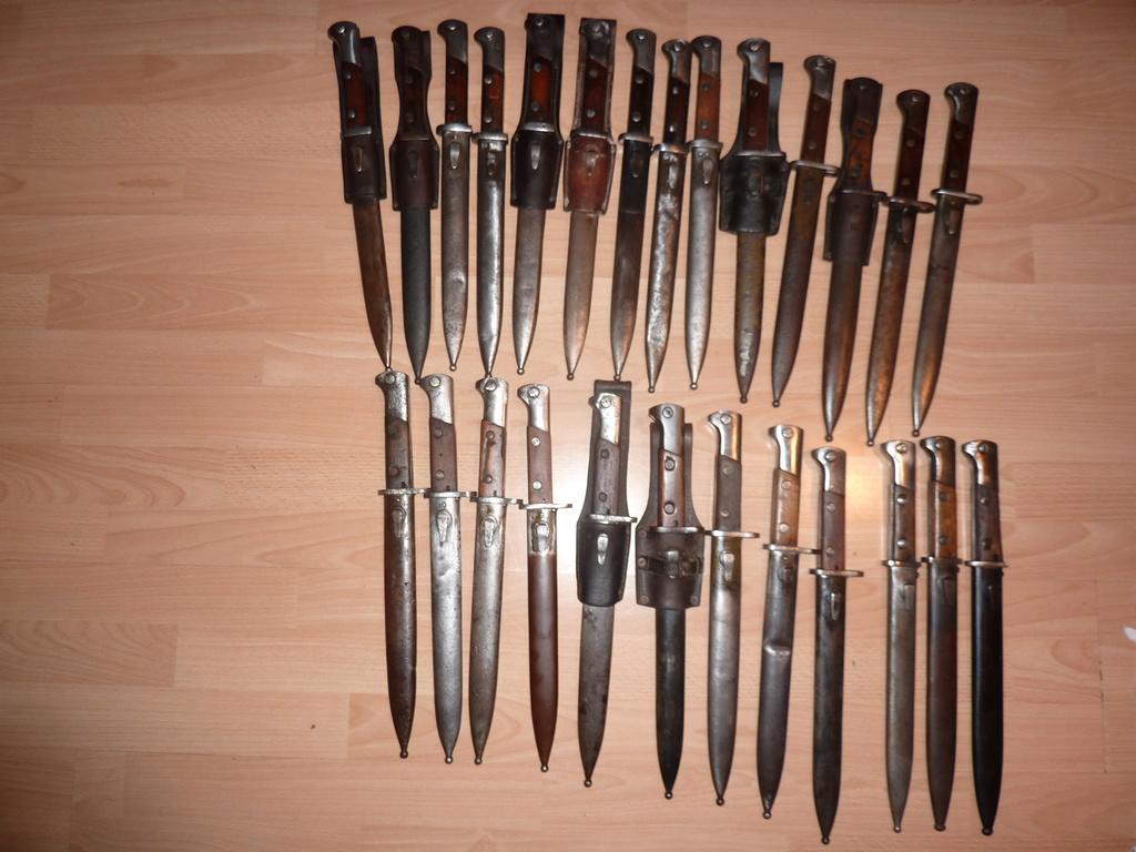 Baionnettes Mauser Polonaises Wz10