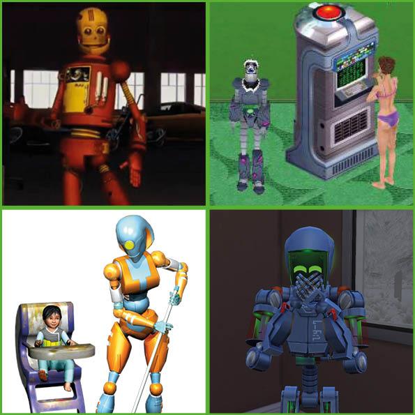 [Histoire] Il était une fois LES SIMS !!! [Officiel] Robots10