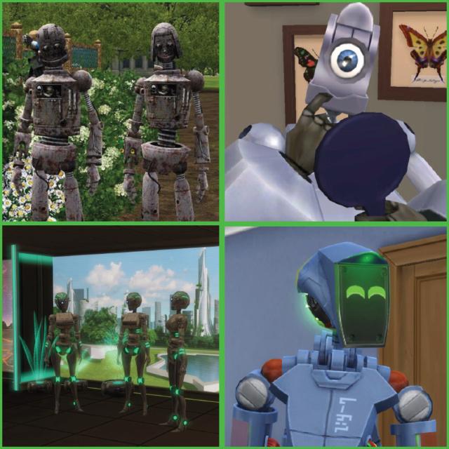 [Histoire] Il était une fois LES SIMS !!! [Officiel] Robots11