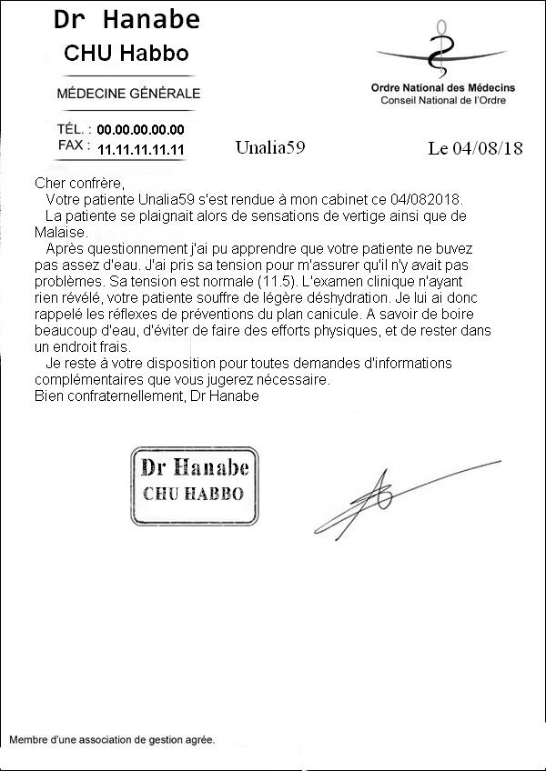 [CHU] Rapport Rôle Play de [Hanabe] Compte11