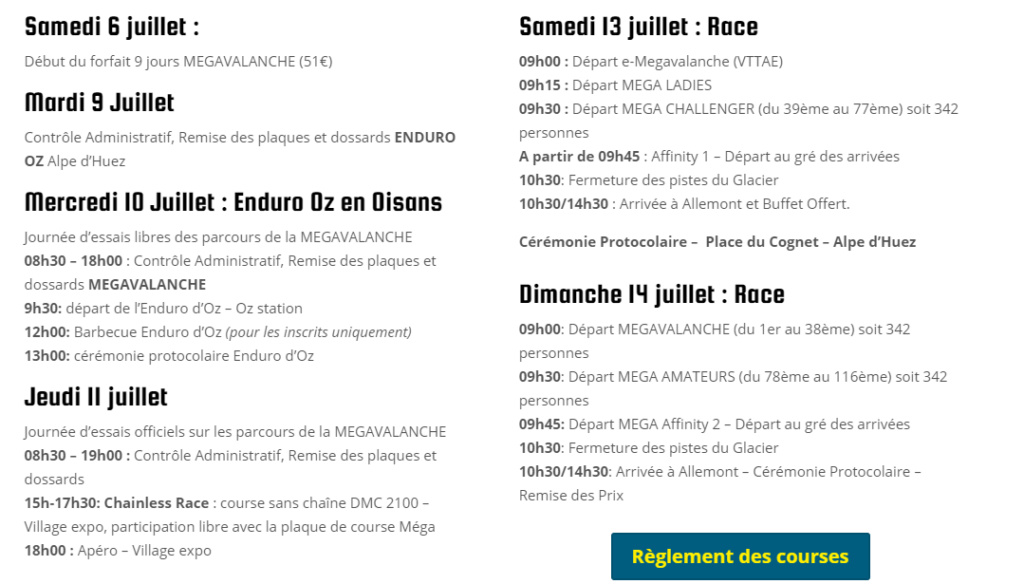 Alpe D'Huez Mégavalanche - 8 > 14 juillet 2019 Screen33