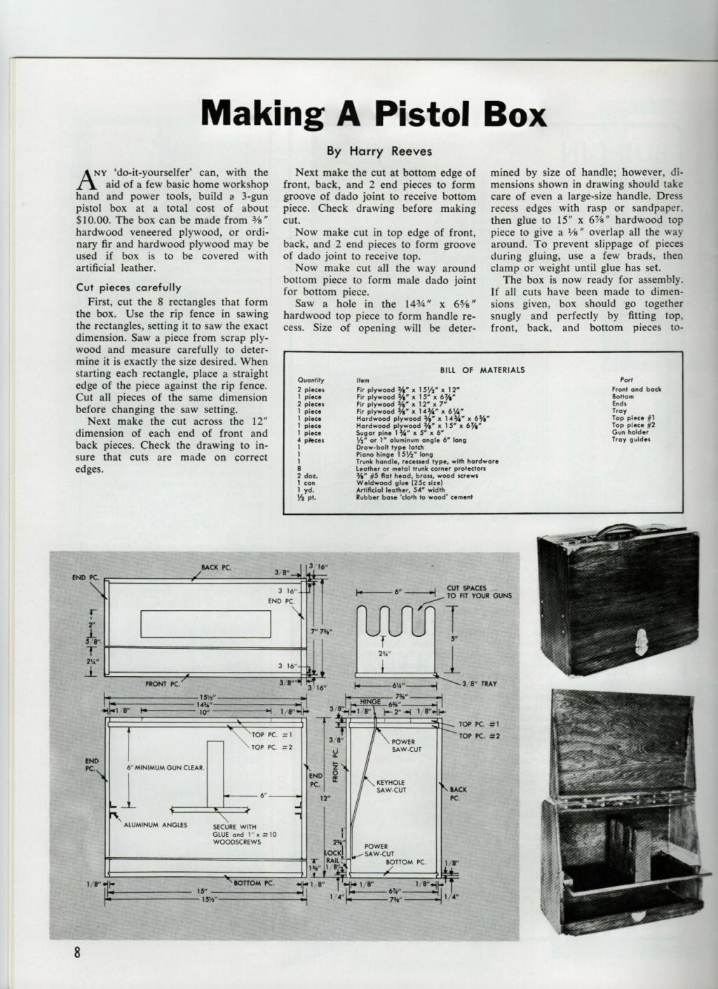 Pistol Box plans Gunbox12