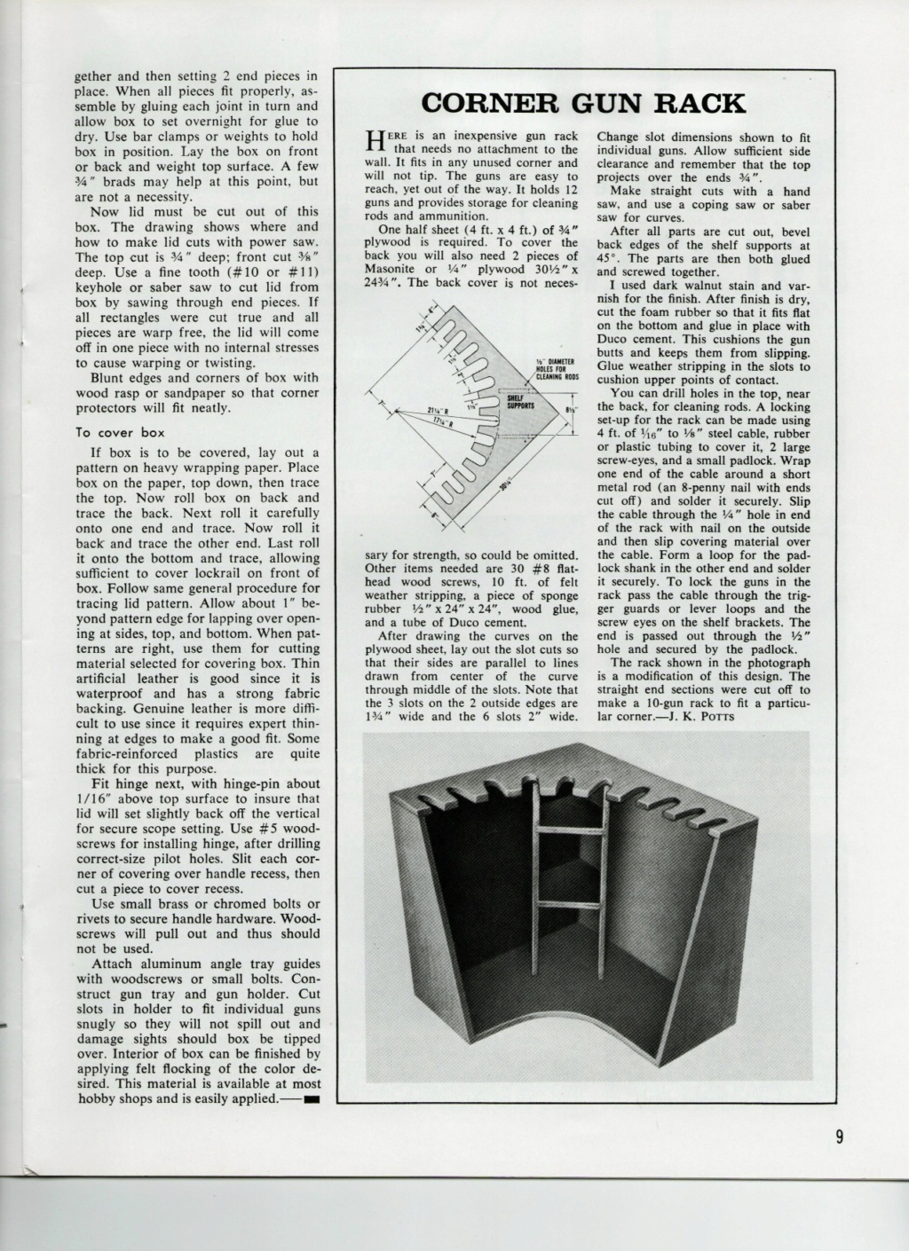 Pistol Box plans Gunbox13