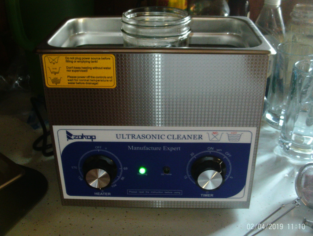 Wanted..recommendation on ultra sonic cleaner Ptdc0144