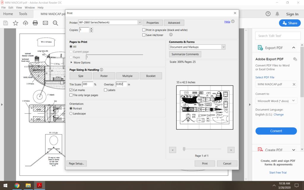 Printing in tile program  Screen48