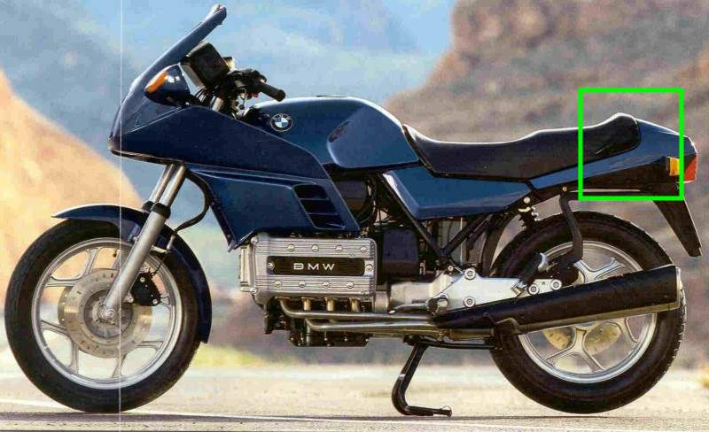 New seat needed for 83 K100 Bmw_k110