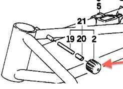 Tank/handlebar stop K100_f12