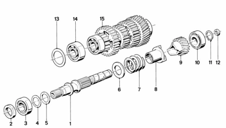 Transmission - Clutch push rod order confirmation (2nd opinion) Scree153