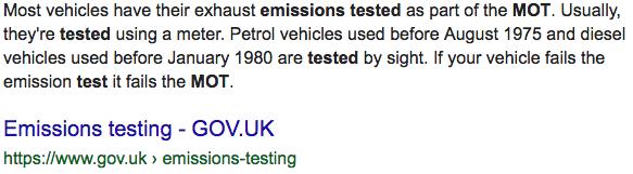K1100 emissions. Screen93