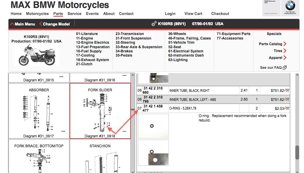 16v K100RS fork drain plug washer? Screen95