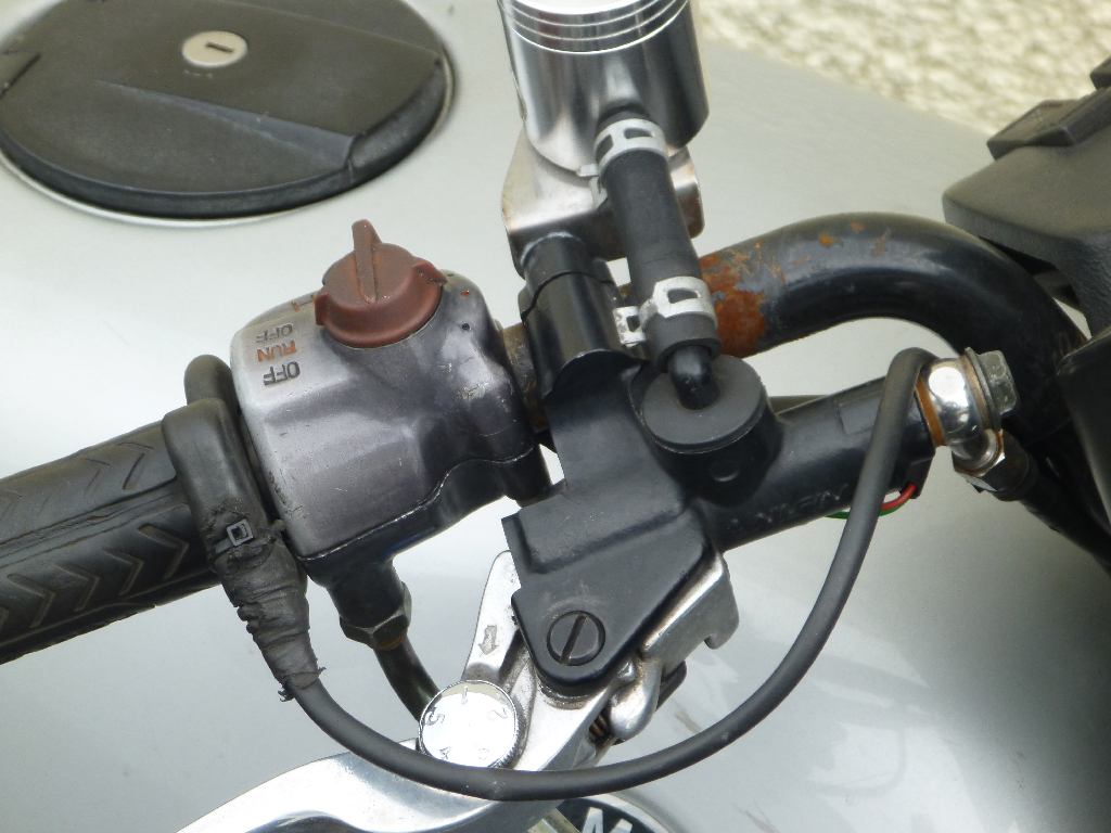Wiring aftermarket handlebar switches Sw311