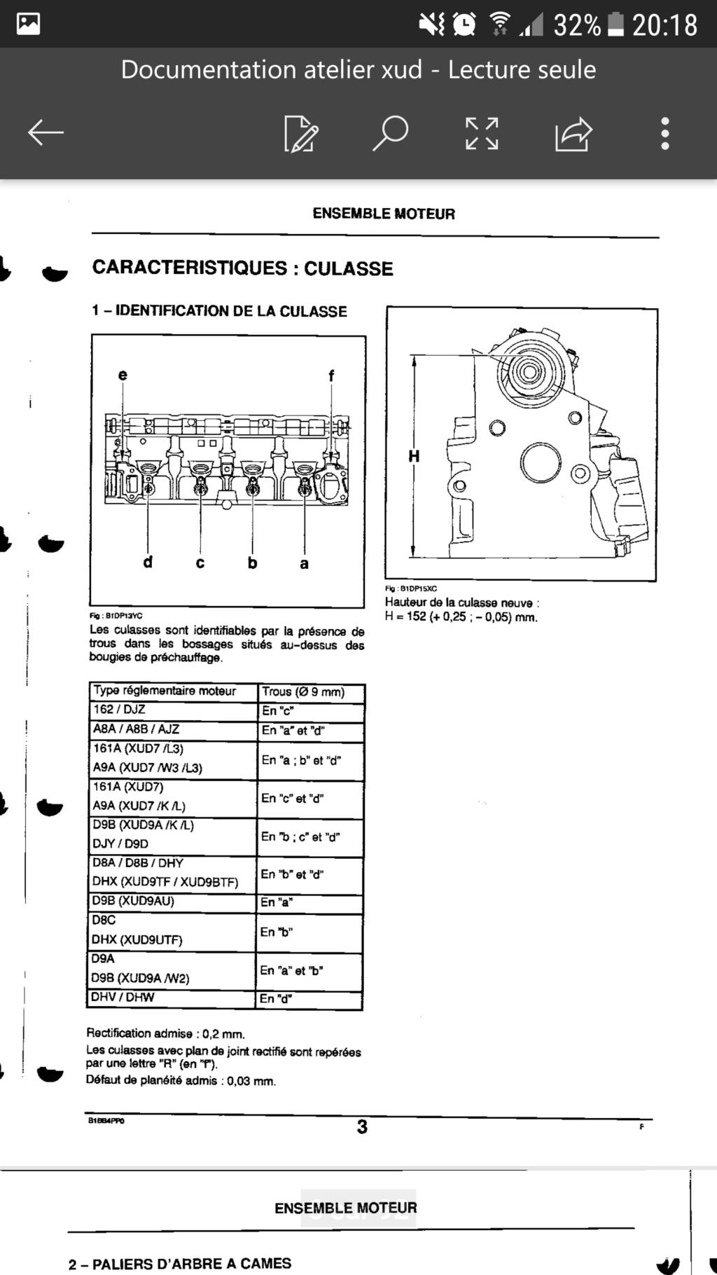 Connaître sa référence moteur et précision sur amortisseur tringlerie injection Screen11