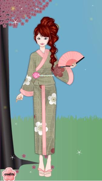 Spring Kimono Gallery Makato10