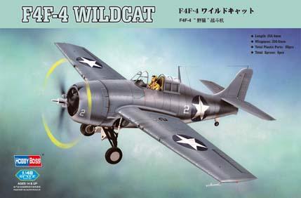 Линейка F4F Wildcat от Hobby Boss 1093_r10