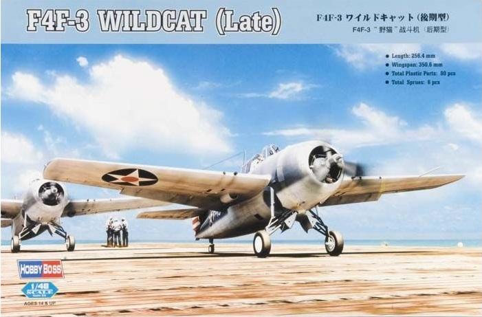Линейка F4F Wildcat от Hobby Boss 42801_10