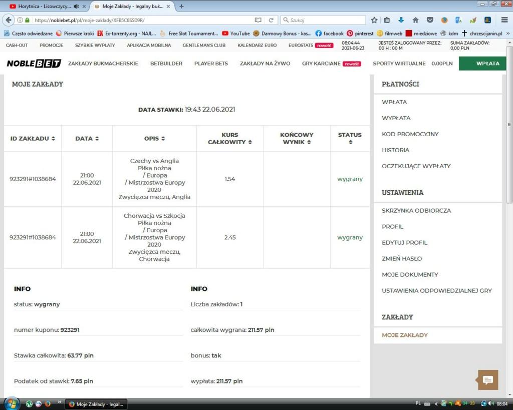 Screenshoty naszych wygranych - bukmacher - Page 23 Bezety37