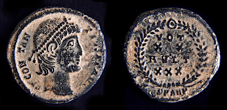 "Constance ii - Antioche RIC. 113 ""éxotique"" Consta26"