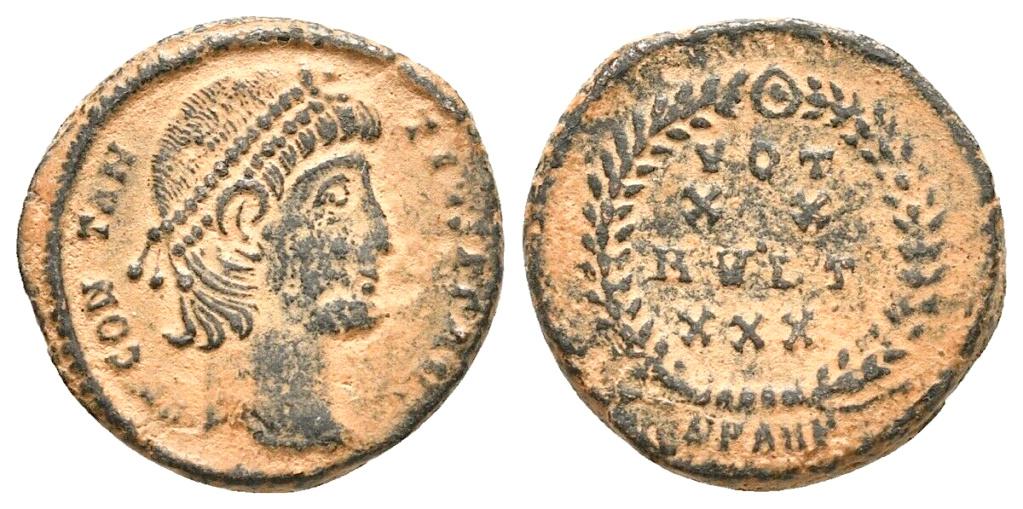 "Constance ii - Antioche RIC. 113 ""éxotique"" Consta27"