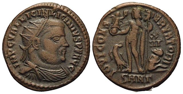 LICINIUS Ier (308-324) Nummus - Nicomédie - RIC 28 ? à référencer ...  Licini10