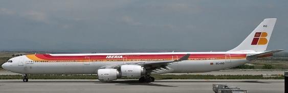 Aterrizaje en Quito de un Airbus 64210