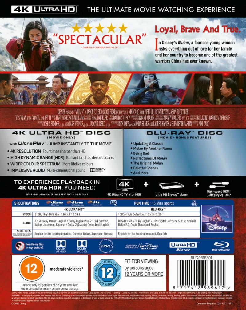 Mulan [Disney - 2020] - Page 2 12714811