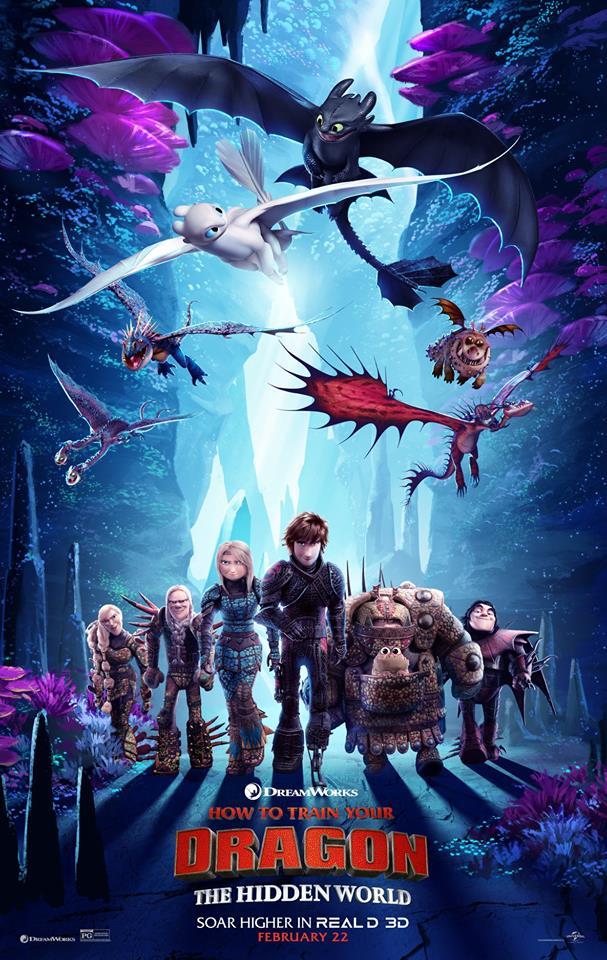 [DreamWorks] Dragons 3 : Le Monde Caché (6 février 2019)  - Page 8 51828210