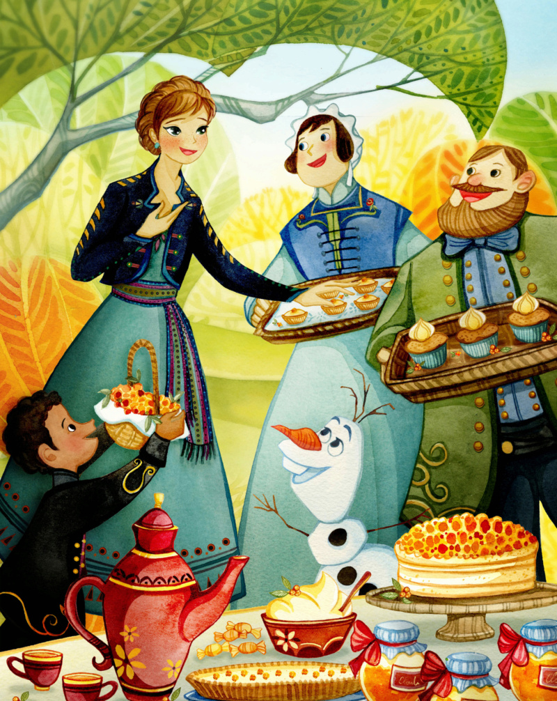 Ultimate Princess Celebration - Histoires et produits dérivés [ShopDisney] Anna210