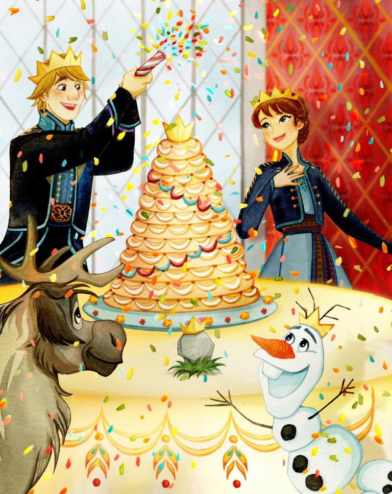 Ultimate Princess Celebration - Histoires et produits dérivés [ShopDisney] Anna310