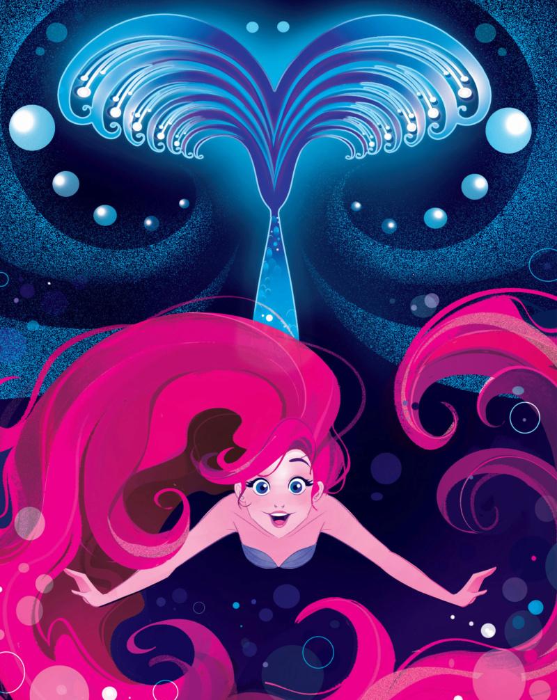 Ultimate Princess Celebration - Histoires et produits dérivés [ShopDisney] Ariel110