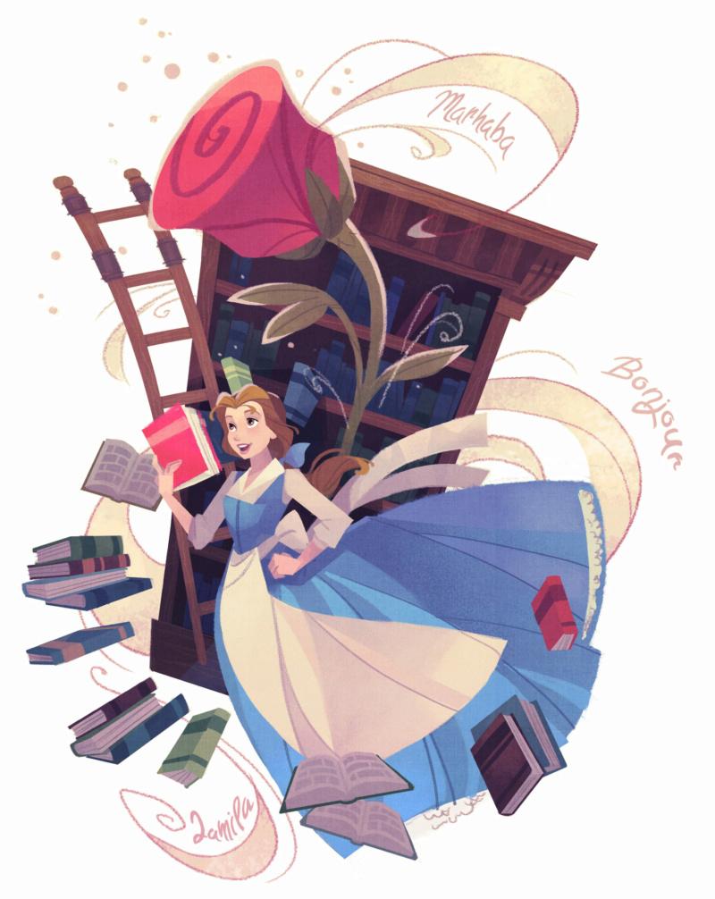 Ultimate Princess Celebration - Histoires et produits dérivés [ShopDisney] Belle010