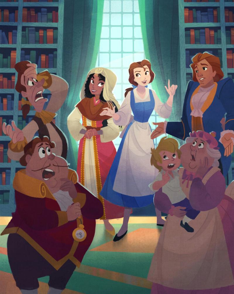 Ultimate Princess Celebration - Histoires et produits dérivés [ShopDisney] Belle011