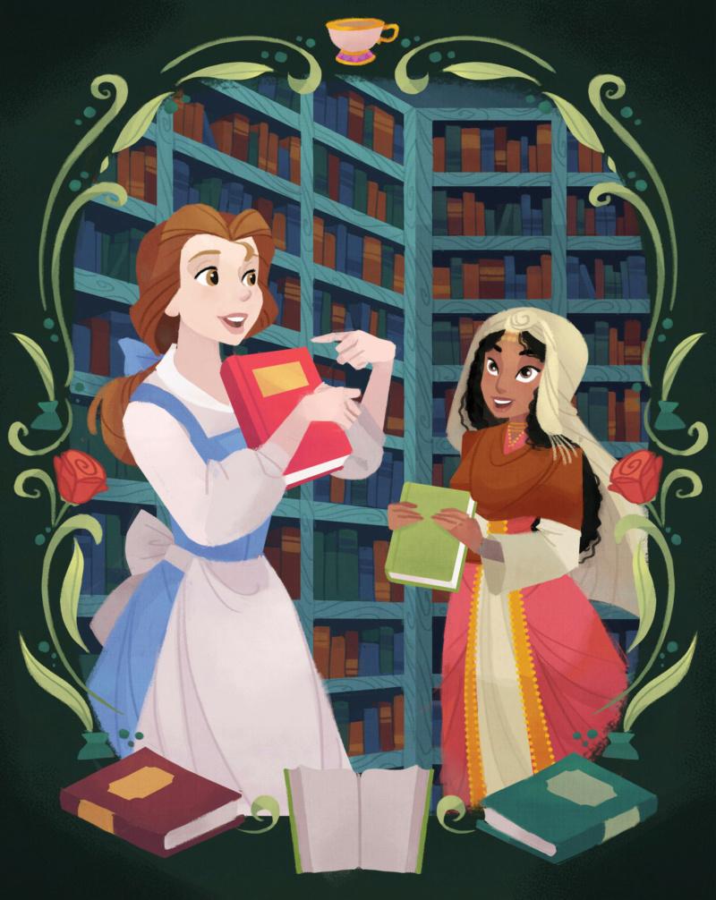 Ultimate Princess Celebration - Histoires et produits dérivés [ShopDisney] Belle012