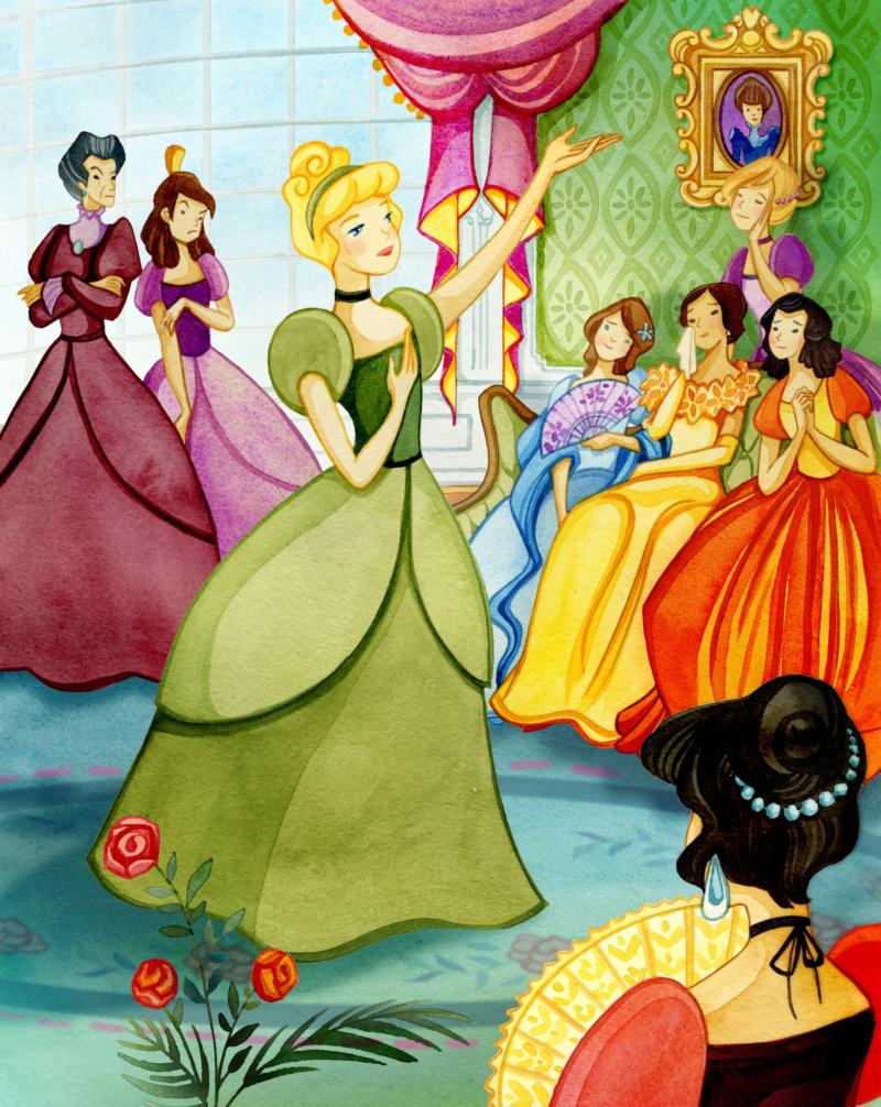Ultimate Princess Celebration - Histoires et produits dérivés [ShopDisney] Cendri12