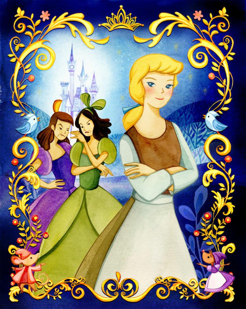 Ultimate Princess Celebration - Histoires et produits dérivés [ShopDisney] Cendri13
