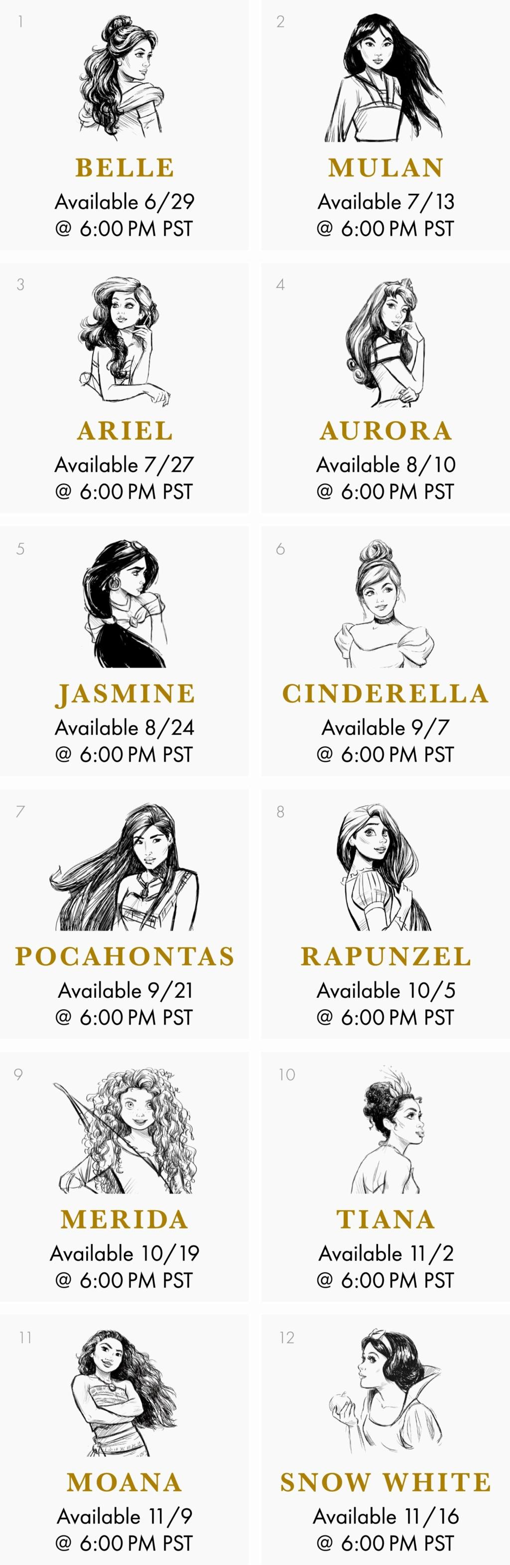 Ultimate Princess Celebration - Histoires et produits dérivés [ShopDisney] - Page 3 Disney19