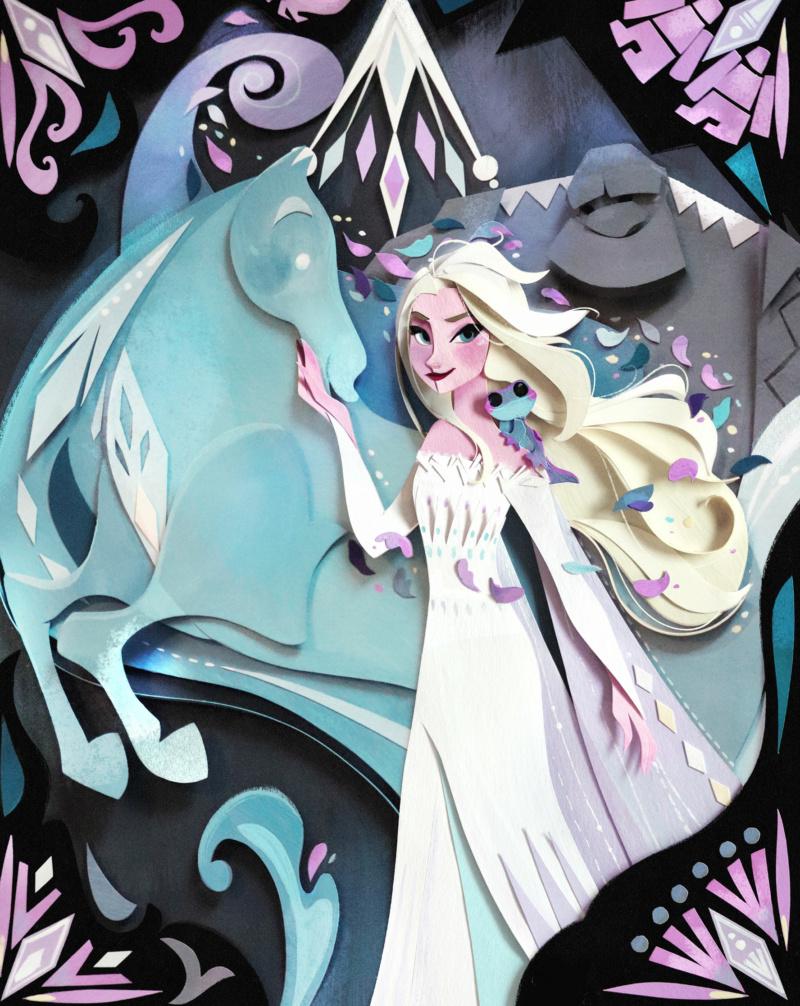 Ultimate Princess Celebration - Histoires et produits dérivés [ShopDisney] Elsa110