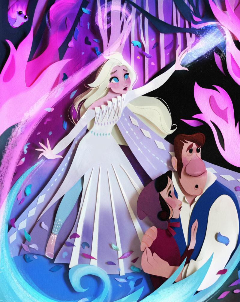 Ultimate Princess Celebration - Histoires et produits dérivés [ShopDisney] Elsa210