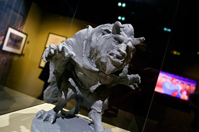 Les maquettes des studios Disney Expo-d10
