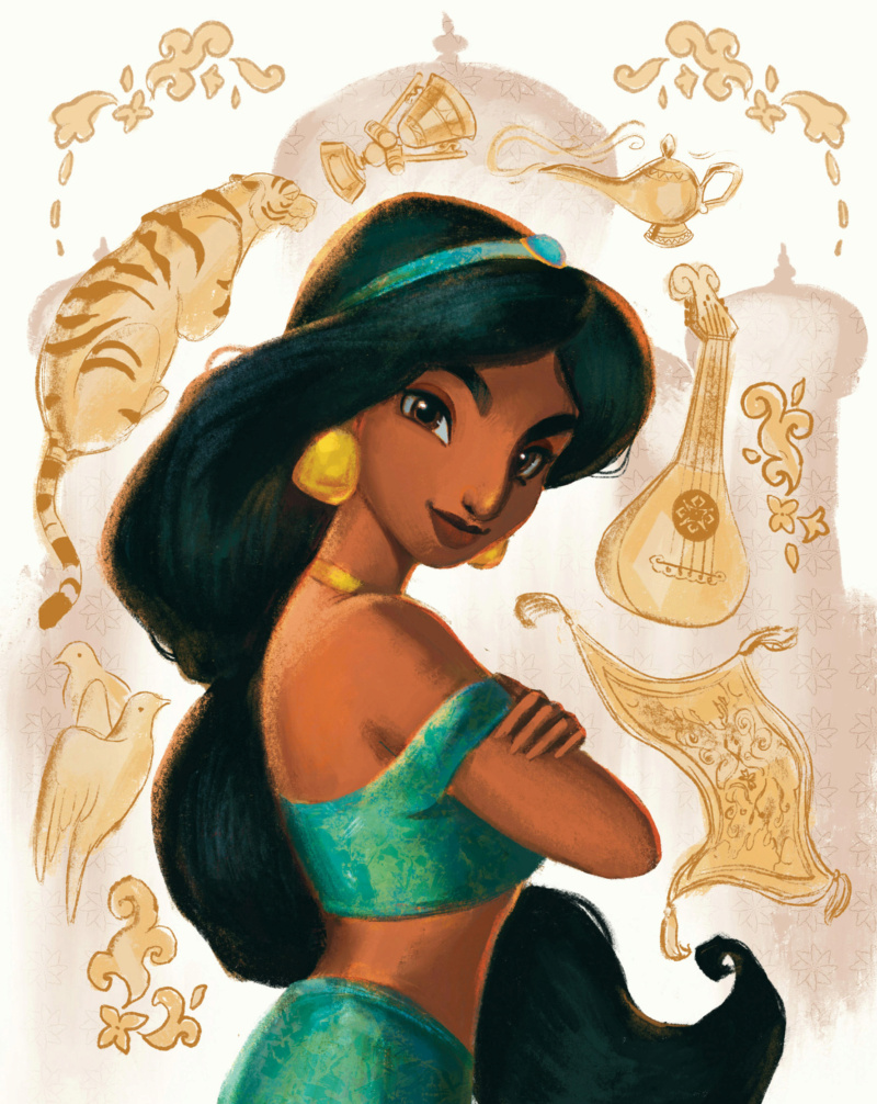 Ultimate Princess Celebration - Histoires et produits dérivés [ShopDisney] Jasmin10