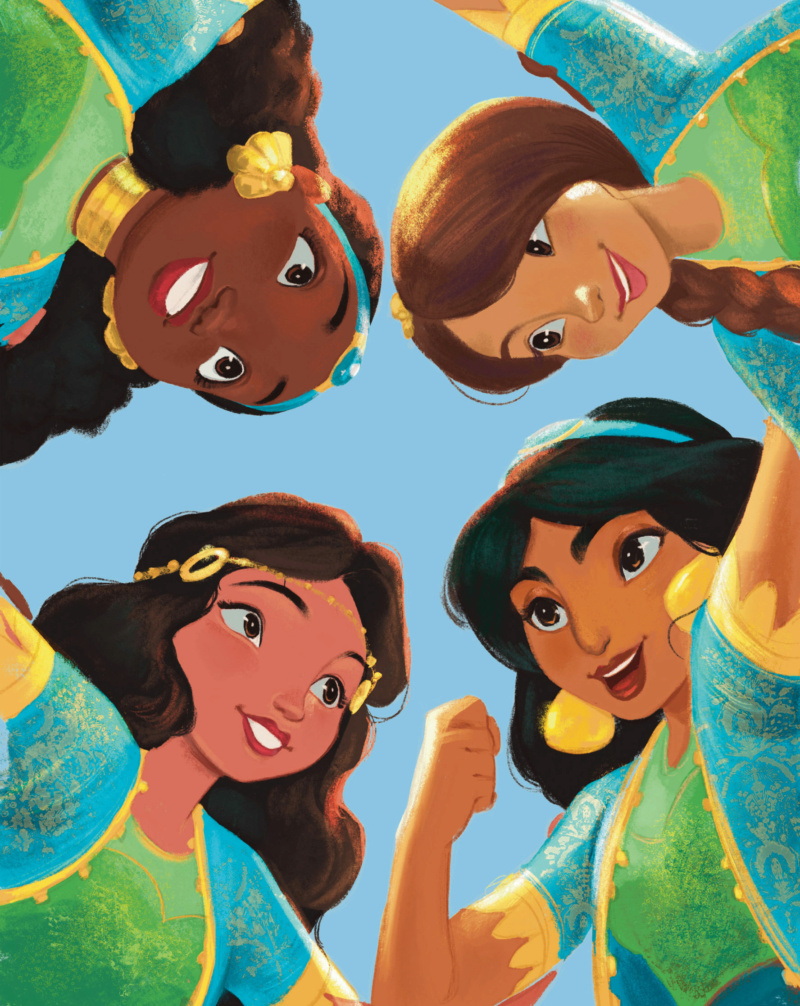 Ultimate Princess Celebration - Histoires et produits dérivés [ShopDisney] Jasmin11