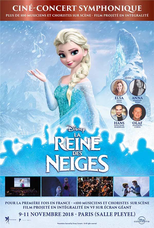 La Reine des Neiges en ciné-concert - Du 9 au 11 novembre 2018 à la Salle Pleyel à Paris La-rei10