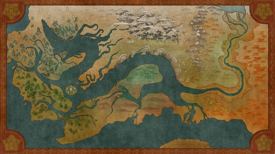 Raya et le Dernier Dragon [Walt Disney - 2021] - Page 14 Map111