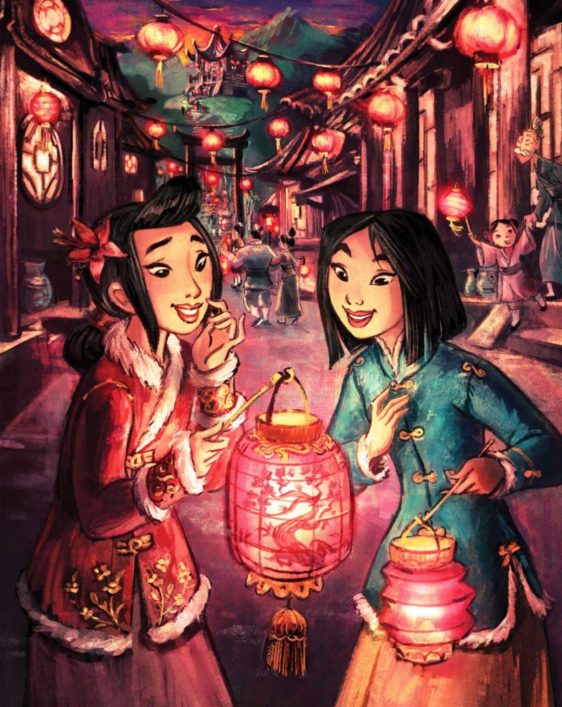 Ultimate Princess Celebration - Histoires et produits dérivés [ShopDisney] Mulan211
