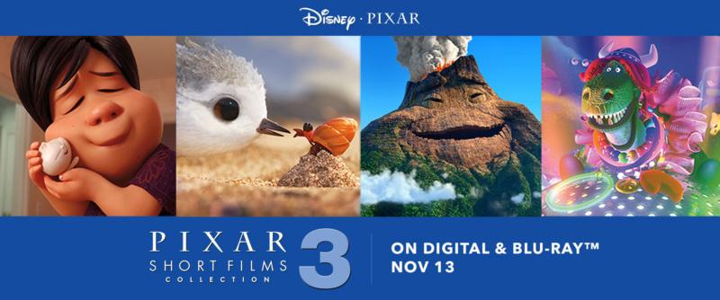 [BD + Digital HD] Les Courts Métrages Pixar - Volume 3 (13 novembre 2018) R_pixa10