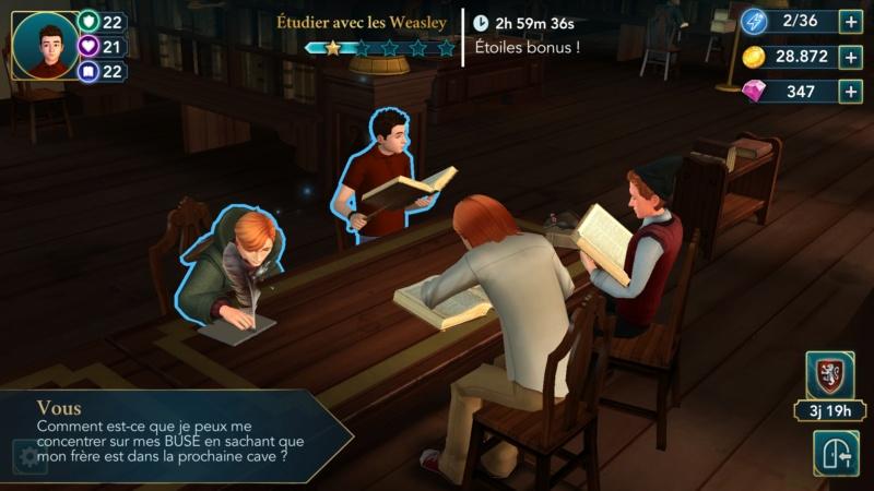 [Jeu Mobile] Harry Potter : Hogwarts Mystery - Page 4 Screen12