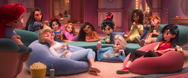 """Les Princesses Disney """"Version Ralph 2.0"""" : Vos préférées ? Screen12"""