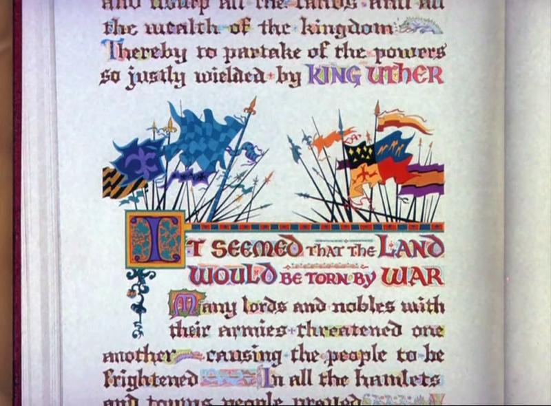 Merlin l'Enchanteur [Walt Disney - 1962] - Page 10 Vlcsn255