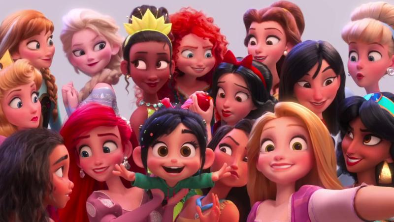 """Les Princesses Disney """"Version Ralph 2.0"""" : Vos préférées ? Vlcsna36"""